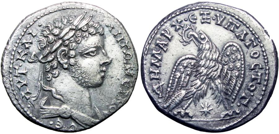 Ancient Coins - SYRIA, Seleucis and Pieria. Laodicea ad Mare. Caracalla. AD 198-217. Very Rare !!