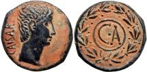 ASIA MINOR, Uncertain. Augustus. 27 BC-14 AD. stunning bold example !!!!