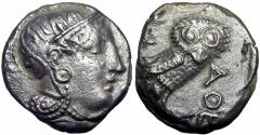 Ancient Coins - Philisto-Arabia.. Early 4th century BC.