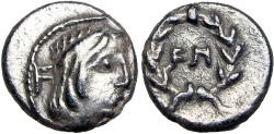 Ancient Coins - Syllaeus - Chief Minister to Obodas III, 9 B.C. , choice example !!