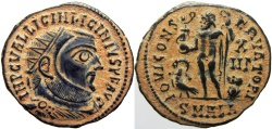 Ancient Coins - Licinius I. AD 308-324. Bold strike on both sides from fresh dies.