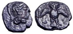 Ancient Coins - Athenian Decadrachm  Imitations from Samaria,  Circa 375-333 BC.