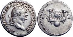 Ancient Coins - DIVUS VESPASIAN. DIED AD 79.