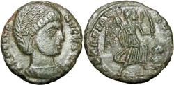 Ancient Coins - Helena. Augusta, AD 324-328/30. Unpublished probably mule .