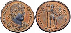 Ancient Coins - Jovian Æ Maiorina. Thessalonica, AD 363-364. A real Gem !!!!!