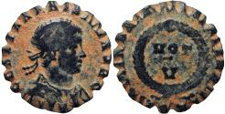 Ancient Coins - Converted into a top or gaming token, Jovian. AD 363-364.