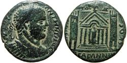 Ancient Coins - Arabia, DECAPOLIS, Abila.  Caracalla. Æ 31. Medallion (11.82 g), AD 198-217.