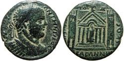 Ancient Coins - Arabia, DECAPOLIS, Abila.  Caracalla. Æ 31. Medallion (11.82 g), AD 198-217.