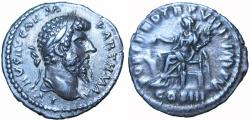 Ancient Coins - Lucius Verus. AD 161-169. Extremely rare, one of three known.