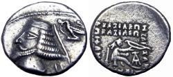 Ancient Coins - KINGS of PARTHIA. Phraates IV. 38-2 BC.