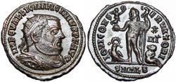 Ancient Coins - Licinius I, 308-324. Alexandria mint.