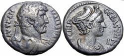 Ancient Coins - EGYPT, Alexandria. Hadrian, with Sabina. AD 117-138.