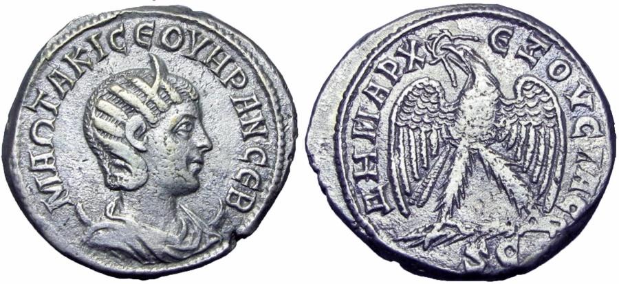 Ancient Coins - SYRIA, Seleucis and Pieria. Antioch. Otacilia Severa. Augusta, AD 244-249.