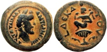 Ancient Coins - EGYPT, Alexandria. Antoninus Pius. 138-161 AD.  Un published for year 10 !!!!