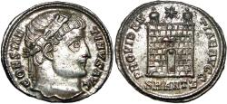 Ancient Coins - Constantine I. AD 307/310-337. Æ silvered Follis.