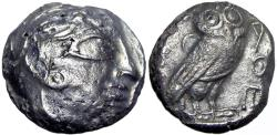 Ancient Coins - ARABIA, Northwestern. Lihyan. 3rd–4th centuries BC. Unpublished new Arabian Type.