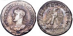 Ancient Coins - SYRIA, Seleucis and Pieria. Antioch. Philip II. AD 247-249.Unlisted bust type with Eagle on Chest , probably Unique !!!