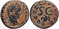 Ancient Coins - SYRIA, Seleucis and Pieria. Antioch. Caracalla. AD 198-217.  Rare and among the finest !!!