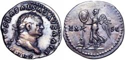 Ancient Coins - Divus Vespasian. Died AD 79. stunning Judaea Capta type .