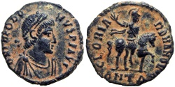 Ancient Coins - Theodosius I. AD 379-395. lovely example and Rare !!