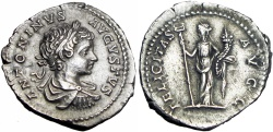 Ancient Coins - CARACALLA. 198-217. Laodicea ad Mare mint. Struck 199 AD. Bold and stunning !!!