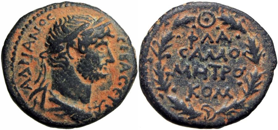 Ancient Coins -  SYRIA, Commagene. Samosata. Hadrian. 117-138 AD.