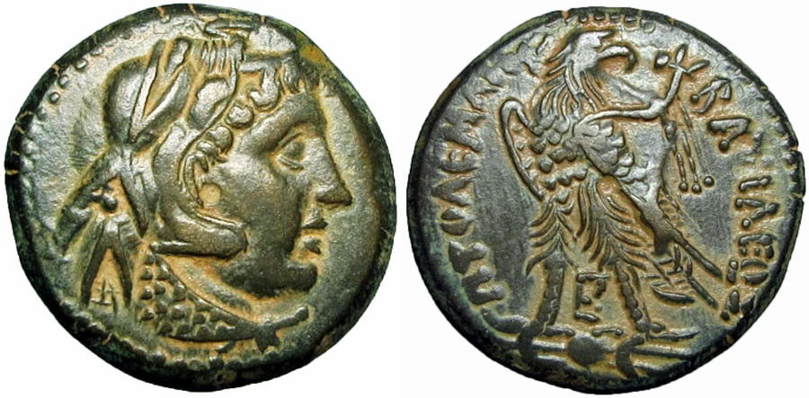Ancient Coins - PTOLEMAIC KINGS of EGYPT. Ptolemy III Euergetes. 246-222 BC. Lovely example !!!!