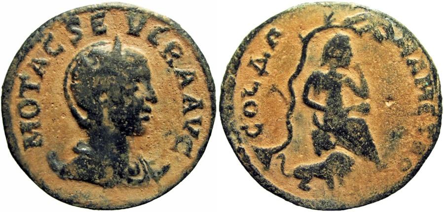 Ancient Coins - SYRIA, Coele-Syria. Damascus. Otacilia Severa. Augusta, AD 244-249.