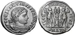 Ancient Coins - Constantine II AE3. Antioch, 330-335 A.D.