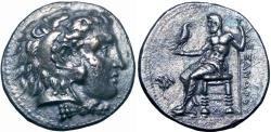 Ancient Coins - Ptolemaic Kingdom of Egypt, Ptolemy I, as satrap, Memphis, circa 323 BC.