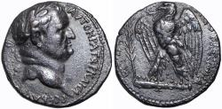 Ancient Coins - Vespasian AR Tetradrachm of Antioch, Seleucis and Pieria. Dated 'New Holy Year' 1 = AD 69. minted to fund the war againest the Jew.