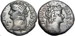 Ancient Coins - EGYPT, Alexandria.Nero, with Tiberius. 54-68 AD.