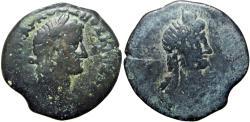 Ancient Coins - EGYPT, Alexandria. Otho. AD 69. Æ Hemidrachm, Very rare.