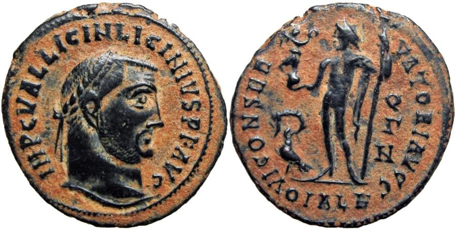 Ancient Coins -  Licinius I. AD 308-324. Alexandria mint.
