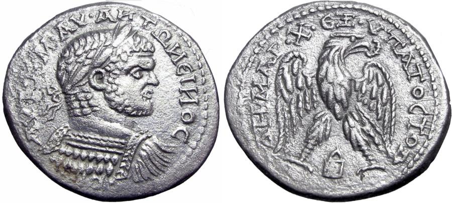 Ancient Coins - MESOPOTAMIA, Edessa. Caracalla. AD 198-217.