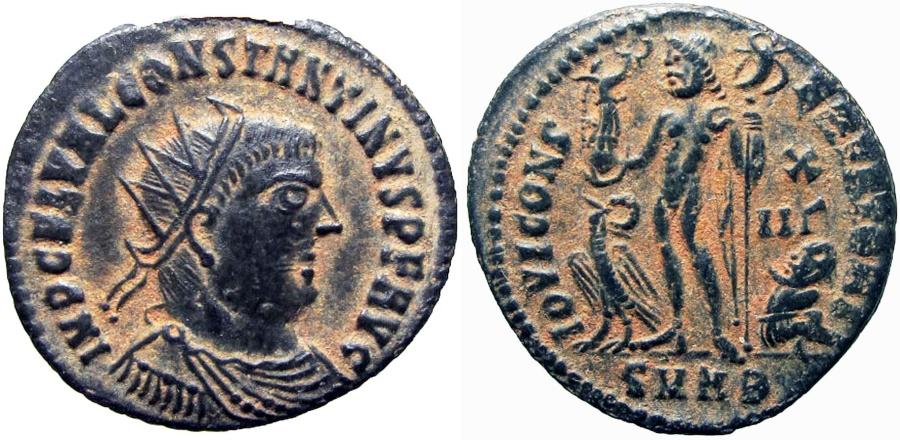 Ancient Coins - Constantine I. AD 307/310-337. Rare !!!