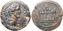 Ancient Coins - EGYPT, Alexandria. Antoninus Pius. 138-161 AD.  Huge flan (35mm) , Stunning for the type !!!