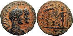 Ancient Coins - Aelia Capitolina (Jerusalem). Elagabalus, with Severus Alexander as Caesar. AD 218-222.