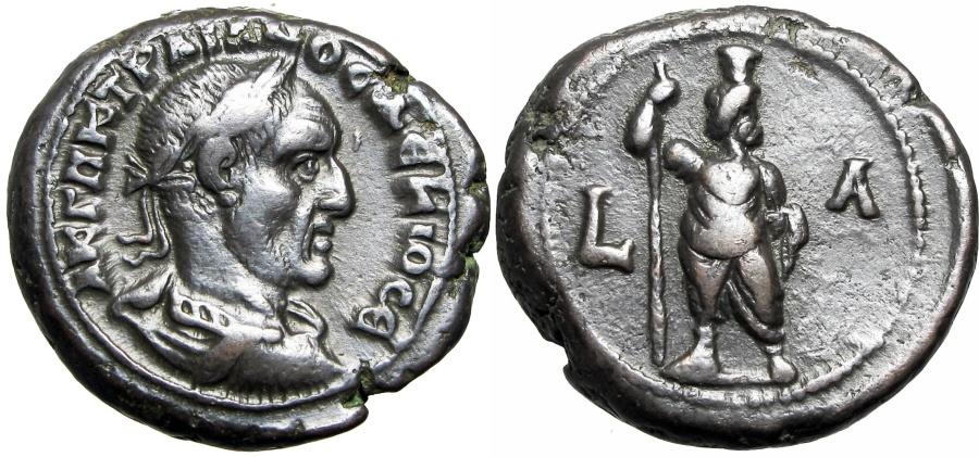 Ancient Coins - EGYPT, Alexandria. Trajan Decius. AD 249-251.