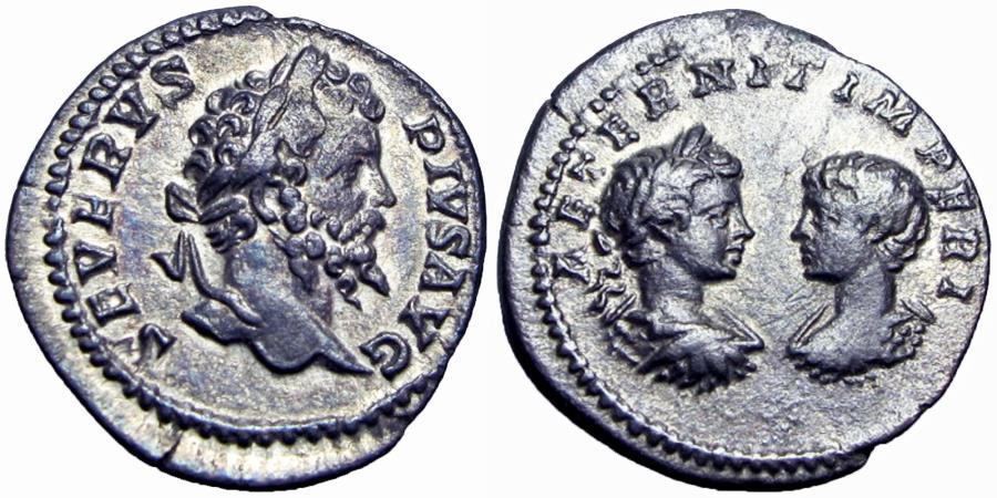 Ancient Coins -  SEPTIMIUS SEVERUS, A.D. 193-211.