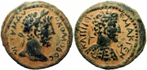 Ancient Coins - SYRIA, Decapolis. Capitolias. Commodus. AD 177-192. /( Alexander the Great) ,Stunning coin !!!!!!