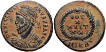 Ancient Coins - JULIAN II APOSTATA (361-363). Follis. Nicomedia.