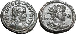 Ancient Coins - EGYPT, Alexandria. Philip I. AD 244-249. Stunning and Rare.