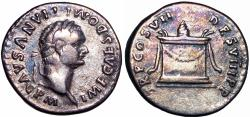Ancient Coins - DOMITIAN. 81-96 AD.