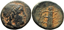 Ancient Coins - KYRENAICA, Kyrene. Circa 308-277 BC.  Probably Unique !!!