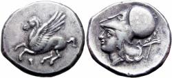 Ancient Coins - Corinthia, Corinth AR Stater. Circa 345-307 BC. Rare !!!