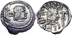 Ancient Coins - Arabia Felix, Himyarites & Sabaeans, Shamnar Yahan'am, 125 - 150 AD .