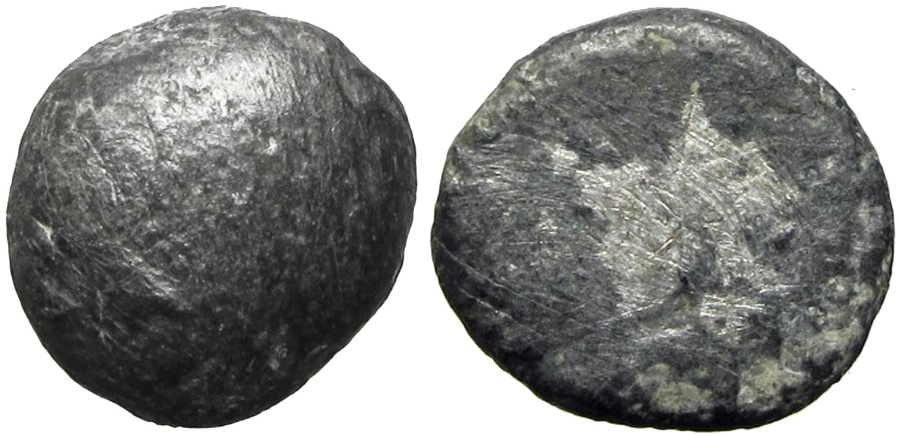 Ancient Coins - EDOM (IDUMAEA). 4th century BC. AR Quarter Shekel