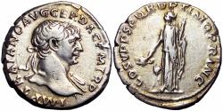Ancient Coins - Trajan. AD 98-117. Arabia type.