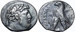 Ancient Coins - PHOENICIA. Tyre. Ca. 126/5 BC-AD 67/8. AR shekel , JUDAS' 30 PIECES OF SILVER.